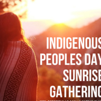 Indigenous Peoples Day Sunrise Gathering 2019