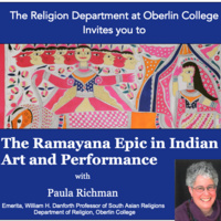 The Ramayana Epic in Indian Art and Performance with Paula Richman: Lecture