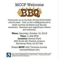 MCCP Welcome BBQ