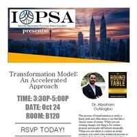 Transformation Model: An Accelerated Approach with Dr. Abraham Gutsioglou