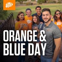 Orange & Blue Day