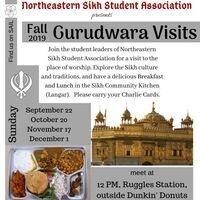 Gurudwara (Sikh Temple) Visits