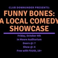 CDU Presents: Funny Bones: A Spooky Local Comedy Showcase