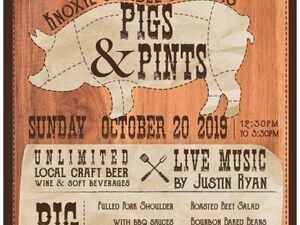 Pigs & Pints at Knoxie's Table