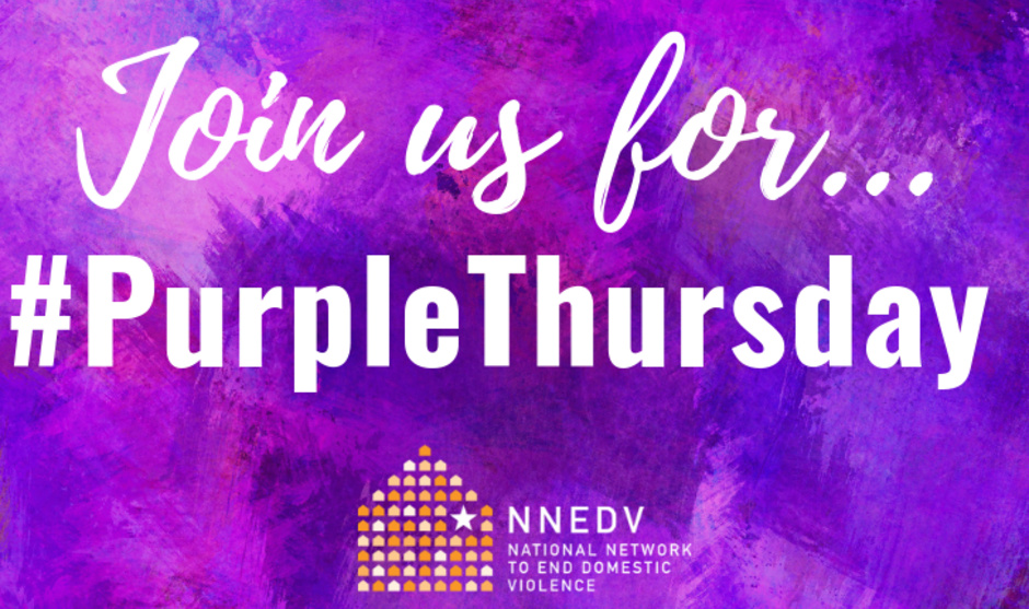 #PurpleThursday