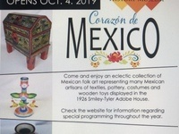 Corazon de Mexico Exhibit