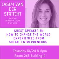 How to Change the World with Casey van der Stricht
