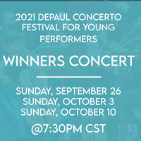 Concerto Festival for Young Performers Winners Concert featuring Detmer, Wimbiscus, and Agrawal