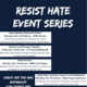 Resist Hate: Artivism, Teach-in and Celebration