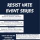 Resist Hate Event Series: Mind the Hate