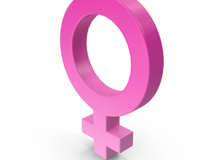 Gender symbol for female taken from the symbol for Venus