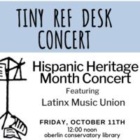 Tiny Ref Desk Concert - Hispanic Heritage Month Concert