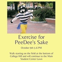 Exercise For PeeDee's Sake