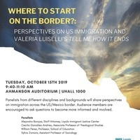Where to start on the border?: Perspectives on US immigration and Valeria Luiselli's Tell Me How It Ends.""