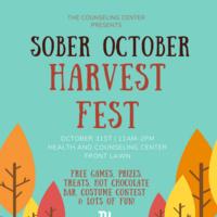 Sober October Harvest Fest