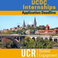 UCDC Application Deadline - Washington DC