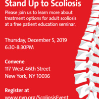 Stand Up to Scoliosis