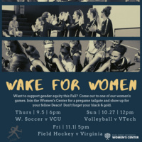 Wake for Women at Field Hockey vs Virginia