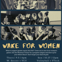 Wake for Women at Volleyball vs Virginia Tech