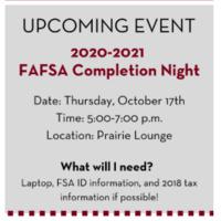 FASFA Completion Night