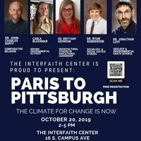 Film Screening and Panel Discussion: Paris to Pittsburgh