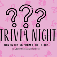Oberlin Heritage Center Trivia Night