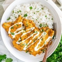 C-Cubed Luncheon - Chicken Korma and Vegetable Korma