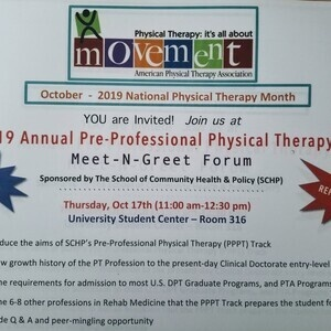 2019 Annual Pre-Professional Physical Therapy Meet-n-Greet