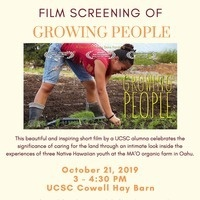 Growing People film screening
