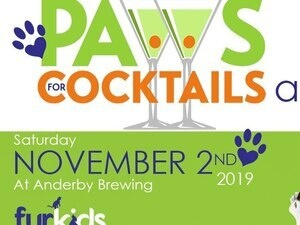 Furkids Paws for Cocktails