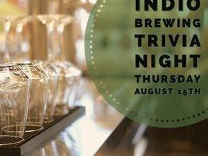 Indio Brewing Trivia Night