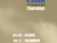 """Sin Nombre"" Film of the Latin American Film Series, OCT 17, G01 Stimson Hall, 4:30 PM, pizza served"
