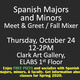 Pizza Social for Spanish Majors in Edinburg