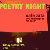 Poetry Night at Zata!