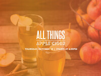 All Things Apple Cider