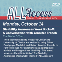 Disability Awareness Week: Jennifer French