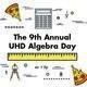 UHD Algebra Day