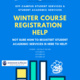 Course Registration Table