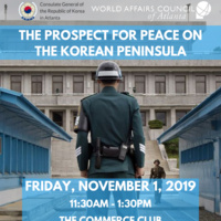 The Prospect for Peace on the Korean Peninsula Luncheon