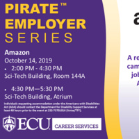 Amazon Information Session & Drop-In Event at Sci Tech