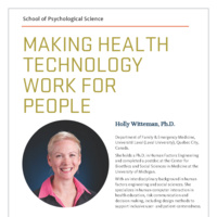 Making Health Technology Work for People