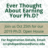 2019 College of Computing and Informatics Ph.D. Open House