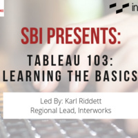 TABLEAU 103: Learning the Basics
