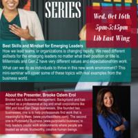 CSML Speaker Series: Best Skills and Mindset for Emerging Leaders