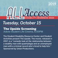 Disability Awareness Week: The Upside Screening