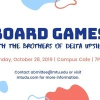 Board Games with Delta Upsilon