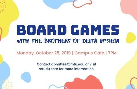 Board Games with Delta Upsilon