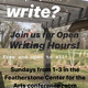Open Writing Hours