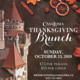 Casa Loma Thanksgiving Brunch
