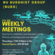 NU Buddhist Group: Weekly Meeting